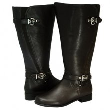 Ros Hommerson Trudy Brown Leather Boot Extra Wide calf