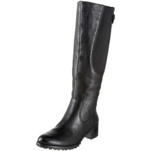 Etienne Aigner boot Valentina Black Leather