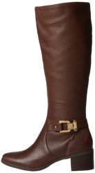 Anne Klein Joettaw Brown Wide Calf
