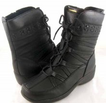 Peearge LB7018 Ladies Ankle Boots Black