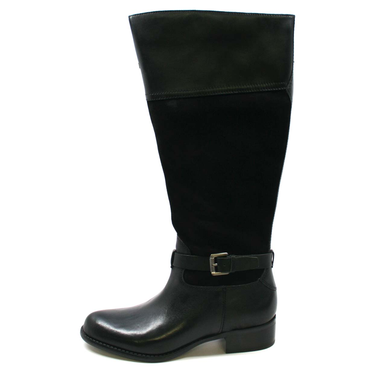 franco sarto s corda wide calf boot black