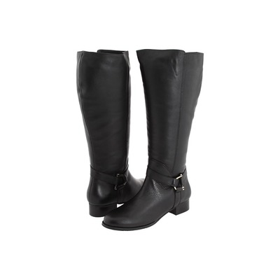 Ros Hommerson Sphere Black Exra Wide calf boot
