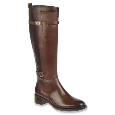 etienne aigner colton boot brown leather etienne colton