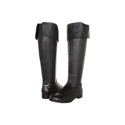 Ros hommerson Topic Medium calf Black Leather Over the knee