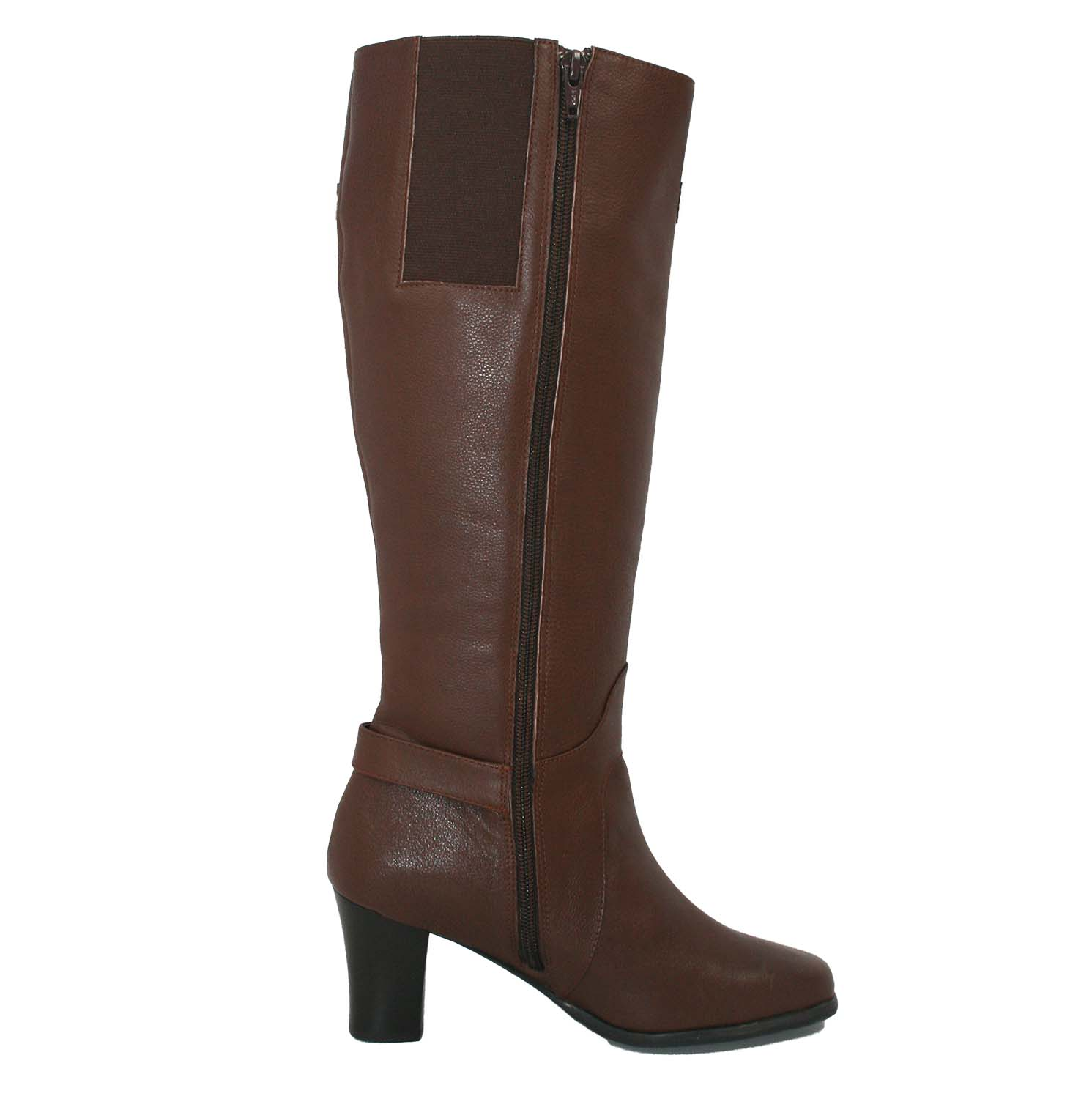 Ros Hommerson Tazmin Wide Calf Knee High Boot Black Leathe [H ...