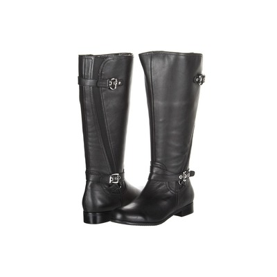 Ros Hommerson Trudy Black  Wide Wide Calf Boot Extra Wide calf