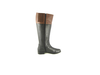 Ros Hommerson Chip boot Black/Banana Bread Leather Wide calf