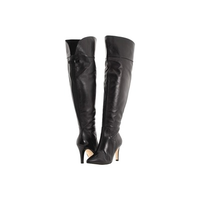 Ros Hommerson Medium/wide calf boot Stefnee Black Leather
