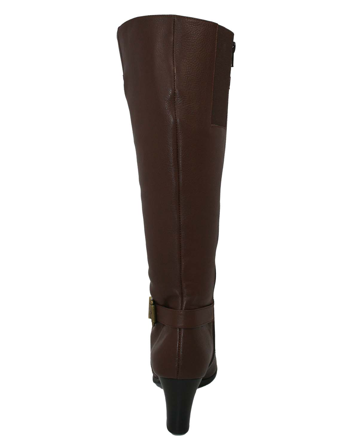 Ros Hommerson Tazmin Wide Calf Knee High Boot Black Leathe