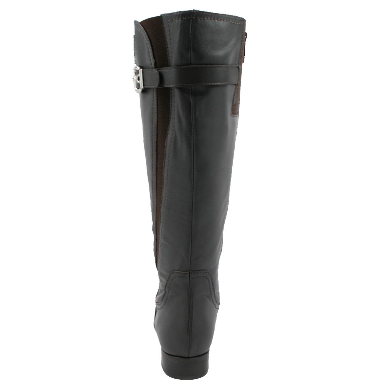 0da9d13a5ee Rose Petals Trudy-2 Extra Wide Calf Brown Leather [R-20304-2 ...