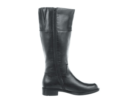 David Tate Wanda Black Leather Wide Shaft 104 99 Slim
